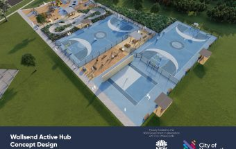 Wallsend, Australia set to be home of new active hub and futsal court