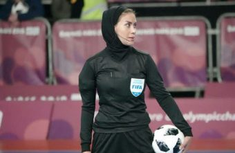 Gelareh Nazemi Iran's pioneering referee will officiate at the 2021 FIFA Futsal World Cup