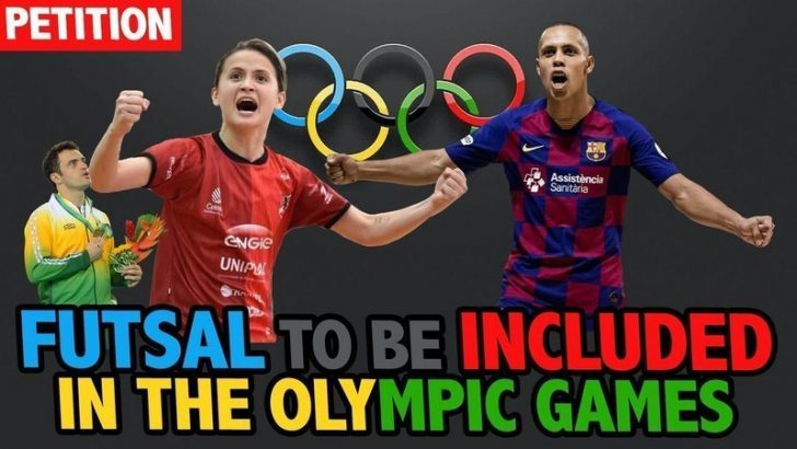 Sign petition to support futsal being included in future Olympic competitions
