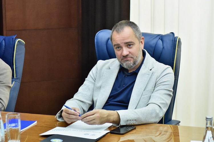 Ukraine discusses applying to host the UEFA Futsal EURO final tournament