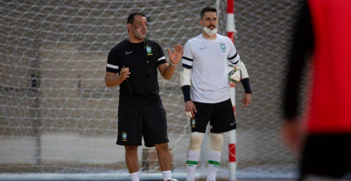 Brazil ahead of this year's 2021 FIFA Futsal World Cup