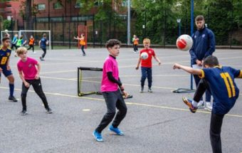 London based charity supporting young people's wellbeing through Futsal