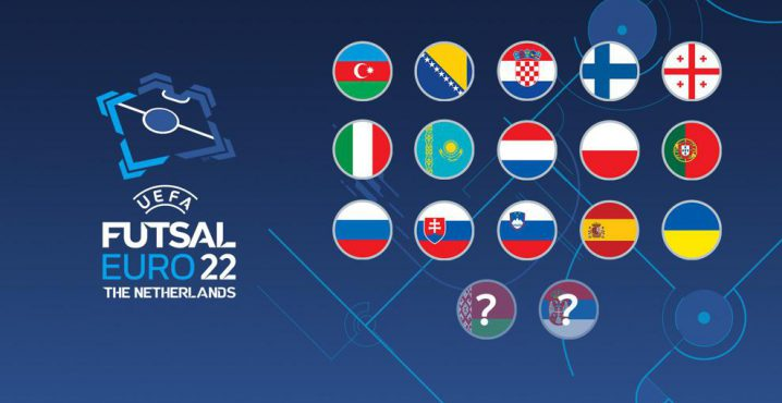 The World Cup ends and the excitement starts for the Futsal EURO draw